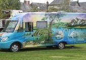 Puzzle camping car