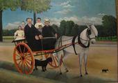 Jeu puzzle tableau de Henri Rousseau