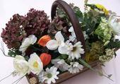 Puzzle composition florale