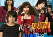 Jeux de puzzle : camp rock
