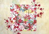 Puzzle gratuit printemps japonais