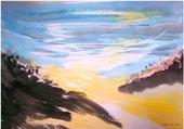 Puzzle paysage aquarelle