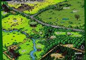 Puzzles La guerre des clans - Territoires