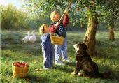 Puzzle cueillette des fruits