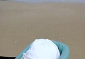 puzzle bébé à la plage