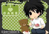 Puzzle en ligne Death Note L