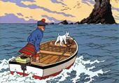Puzzle Jeu puzzle Tintin barque