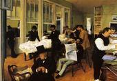 Jeux de puzzle : toile de Degas