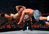 Jeu puzzle Randy Orton fait un RKO sur Cena