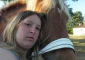 Jeu puzzle moi et mon cheval