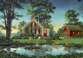 Puzzle petit paradis