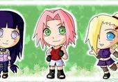 Puzzles Chibi Naruto Girl !
