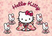Puzzle HELLO KITTY !!