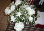 Puzzle bouquet romantique