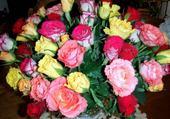 Puzzle bouquet de roses