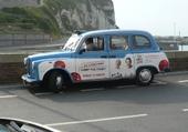 Puzzle taxi anglais à deauville