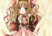 Puzzles ange manga fille