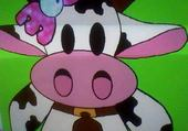 Puzzle marguerite la vache