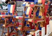 Puzzle chaises de bistrot