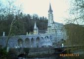 Jeux de puzzle : Lourdes en hiver