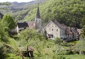 Puzzle village de Lods Doubs