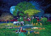 Puzzle en ligne animaux d'Afrique