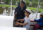 matthieu sur un bateaux