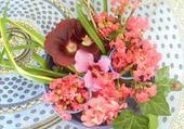 Puzzle Jeu puzzle composition florale