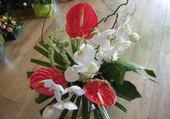 Jeux de puzzle : composition florale