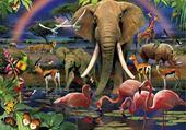Jeu puzzle Africa