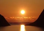 Puzzle Soleil de minuit aux Lofoten