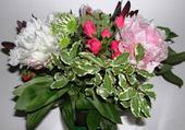 Jeux de puzzle : bouquet varié