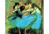Puzzles Danseuses EN BLEU