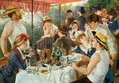 Jeux de puzzle : déjeuner des canotiers