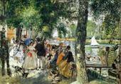 Puzzle en ligne la Grenouillère - Renoir
