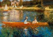 Puzzle la seine à Asnières - Renoir