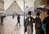 Puzzle rue de Paris sous la pluie