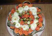 Puzzle gratuit composition florale