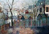 Jeux de puzzle : Jardin de Renoir à Montmartre