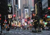 Jeux de puzzle : Broadway en soirée.