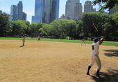 Un match de base-ball