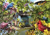 Puzzle Puzzle maison d oiseaux