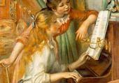 Puzzle Jeune fille au piano - Renoir