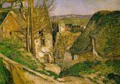 Puzzle gratuit La maison du Pendu - Cézanne