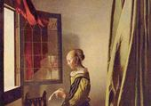 Liseuse à la fenêtre - Vermeer
