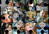Puzzles montages photo bebe