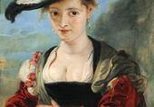 Puzzle femme au chapeau - Rubens