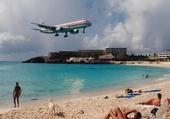 Puzzle Avion sur la plage