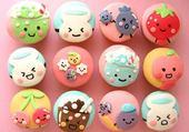 Puzzle cupcakes kawai