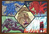 Puzzle gratuit Les Demons  Naruto Shippuden